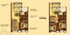 (东城区)沭城天下2室2厅1卫93m²精装修